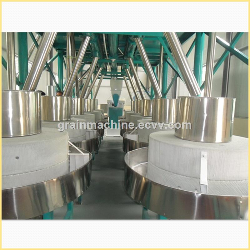 the Stone Flour Mill System for Sorghum Buckwheat Oats Soybeans