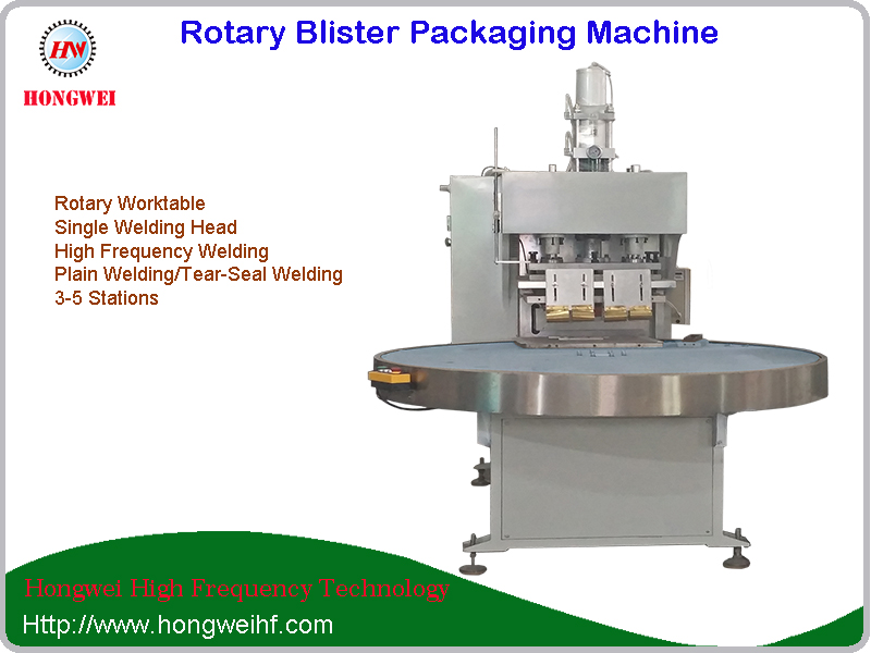 Rotary Semi Automatic Blister Packing Machine