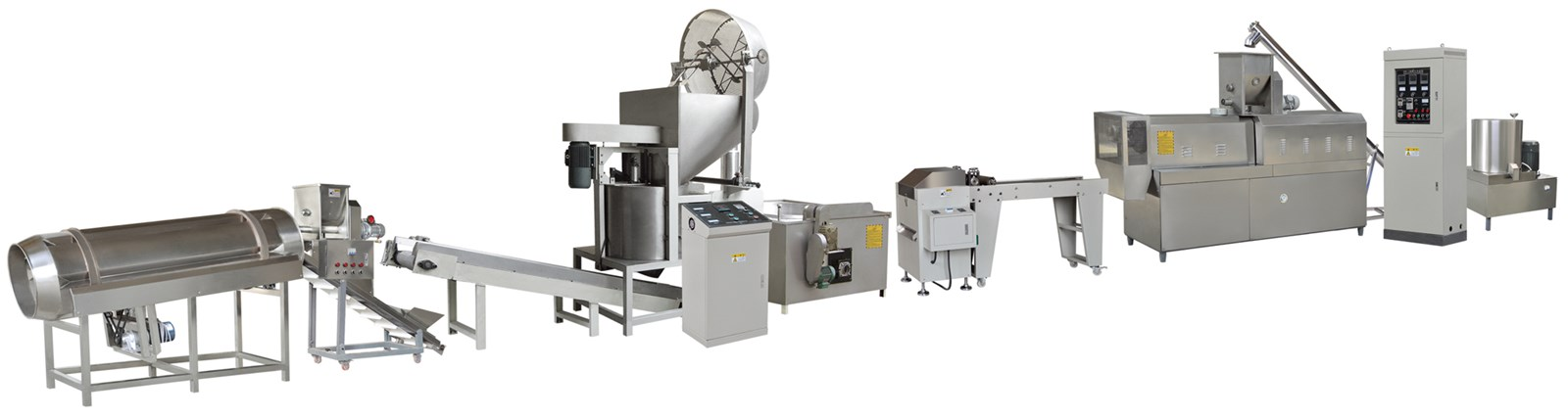 America Popular Hot Selling High Capacity Fried Potato Chips Making Machine