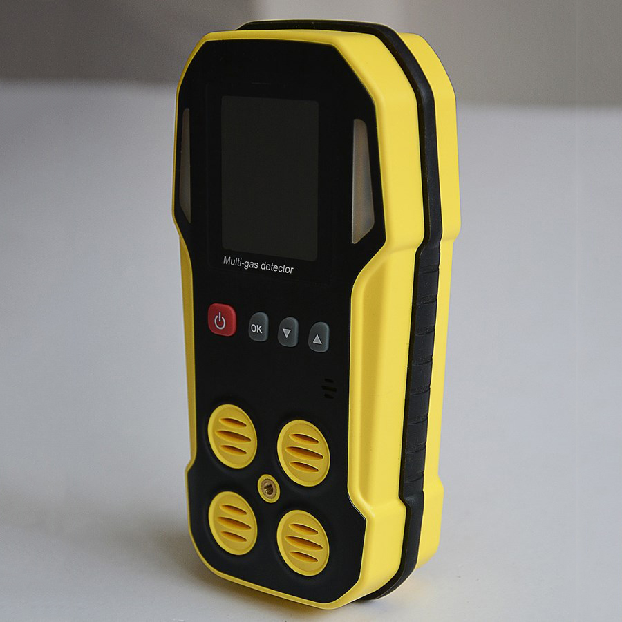 waterproof IP66 multi gas detecting alarm for COO2H2SCH4LELSO2NO2NOCO2