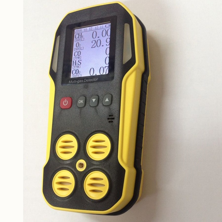 Explosionproof fire protection safety device multi gas detector for co h2s so2 Nox and explosive gas