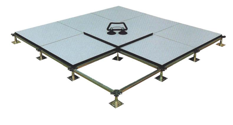 Fullsteel Antistatic Raised Access Floor 600600mm Customized