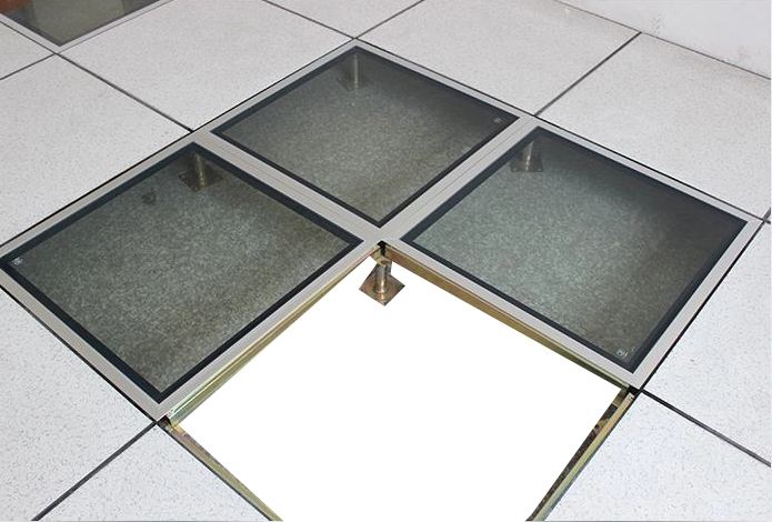 High Quality Glass Raised Floor 60060030mm Data Entry