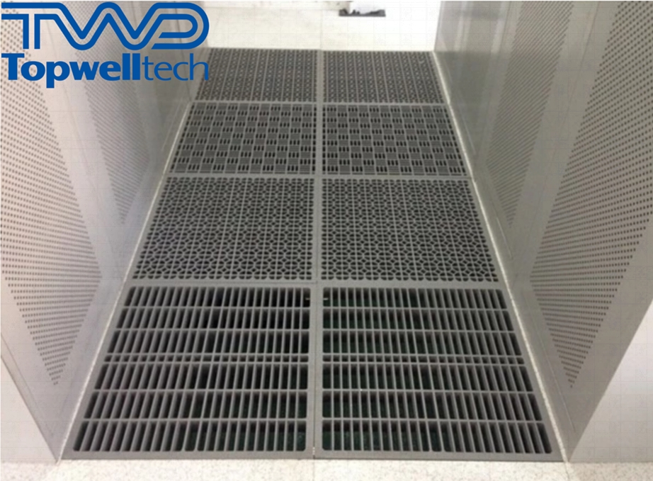 High Quality Aluminum Perforated Steel Raised Floor Data Entry Or Network