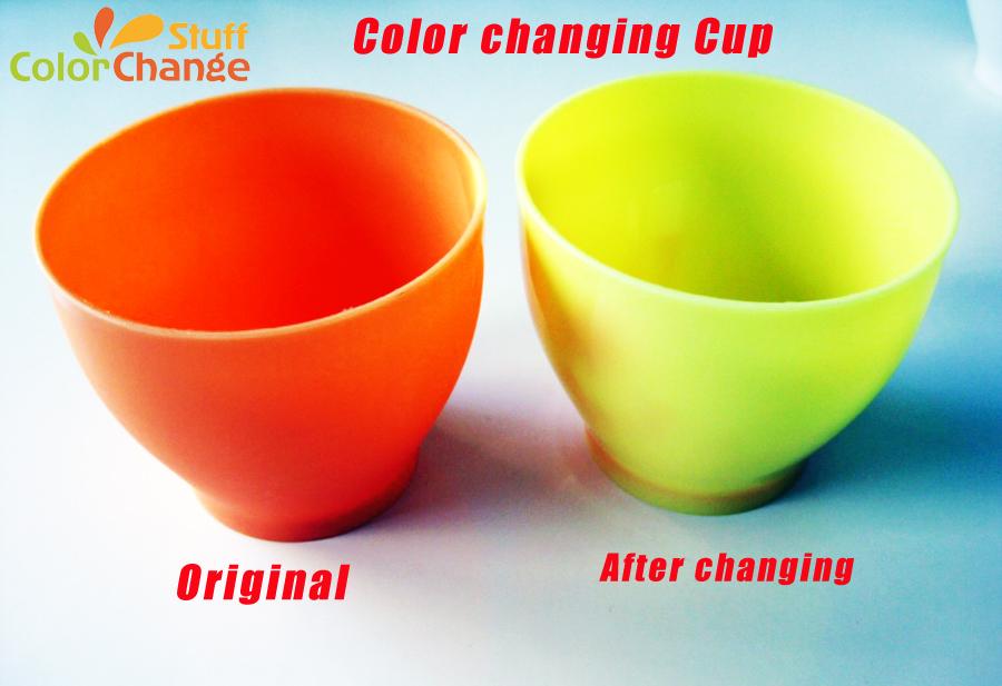 Heat Sensitive Color Changing Plastic Cup