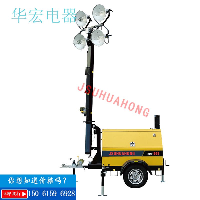 HMF969B Hydraulic Lifting Mobile Lighting Lighthouse Hydraulic Support Leg