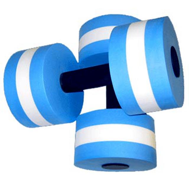 Lightweight Customized EVA Foam Dumbbells Water Aerobics Dumbbells Aquatic dumbbell