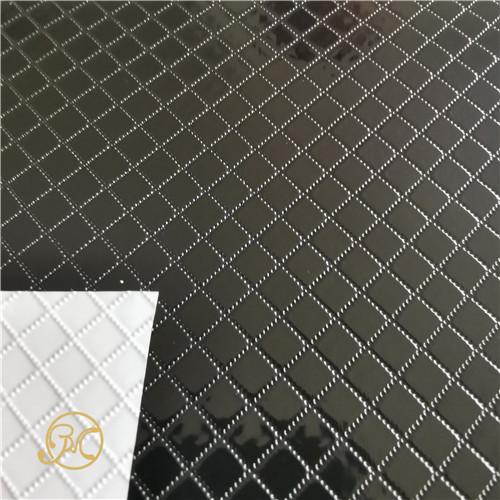 Silver golden color PVC film emboss surface aluminum PVC foil