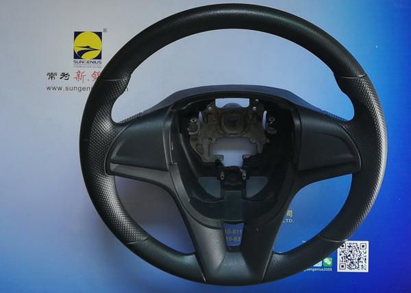 Inmould coating for PU steering wheel