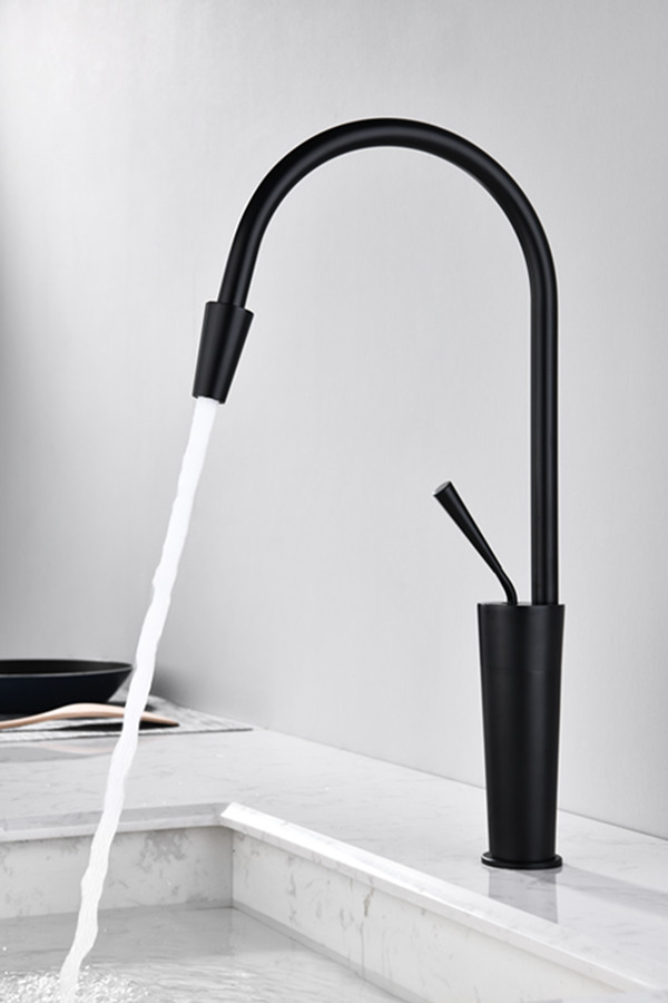 Single Handle Brass Kitchen Faucet New
