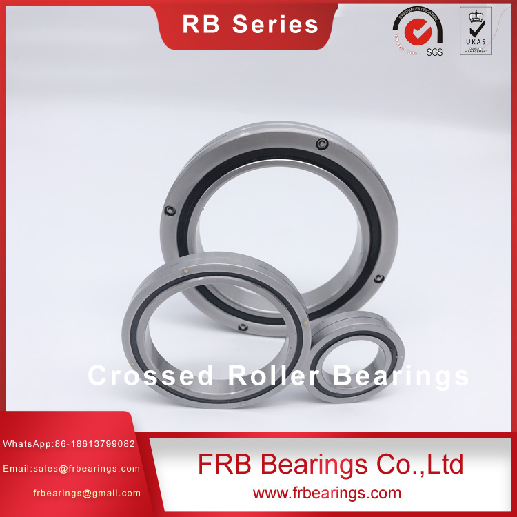 CRBH5013 Crossed Roller ringTHk cross roller bearing for slewing assembly fixtureGCr15SiMn stainless thrust bearing