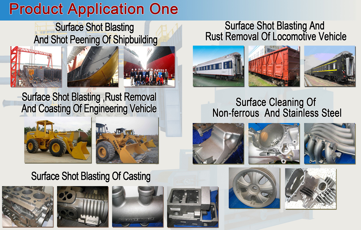 Steel abrasives steel shot for ballast