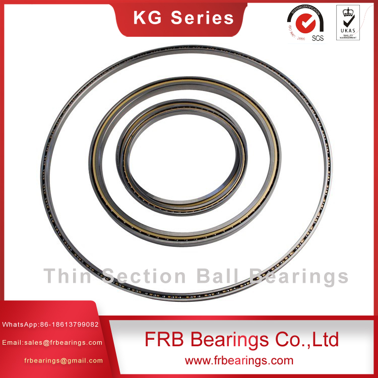 KG400AR0 thin section ball bearingsGCr15SiMn thin ball bearingsangular contact bearings for Machine tools