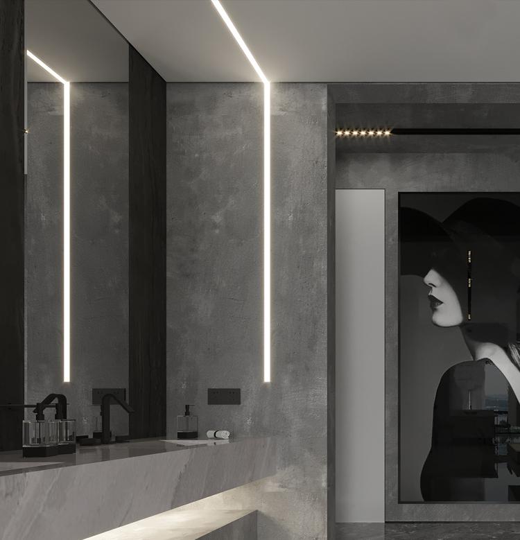 Led Linear Ceiling Light Joinable Linear Light