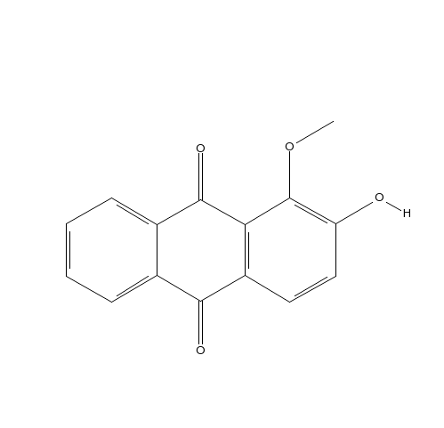 Alizarin 1methyl ether 6170065 98Supplying a variety of natural product referenceCOSTeffective