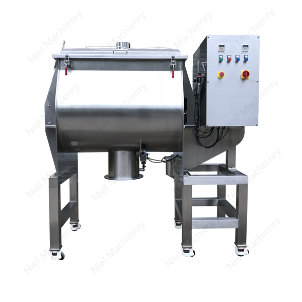 NIEL MACHINERYSingle shaft paddle powder mixer machine with engineer service