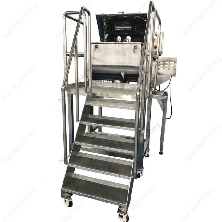NIEL MACHINERY stainless steel ribbon mixer blender machine with engineer service