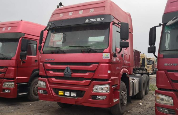 Used SINOTRUK HOWO 64 Tractor Truck