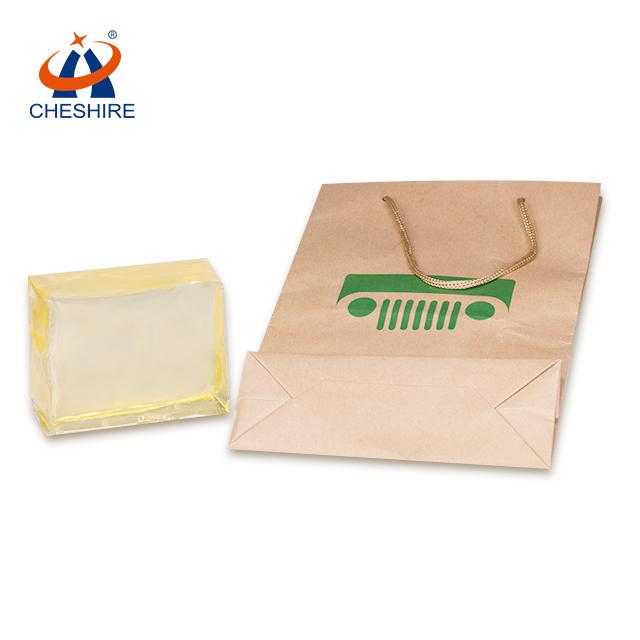 Cheshire paper bag bonding glue kraft bag hot melt adhesive glue