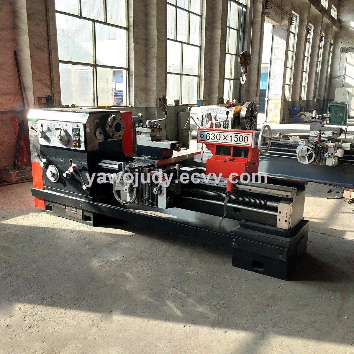 Manual Lathe machine horizontal turning lathe with high precision