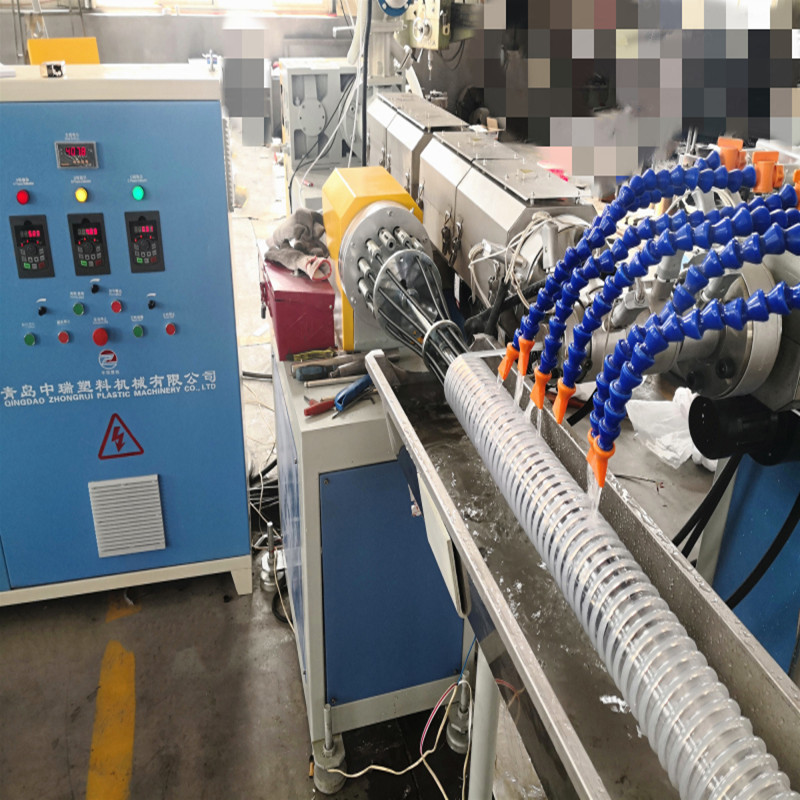 PVC reinforced pipe production line