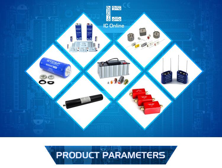 All tantalum case high temperature electrolytic tantalum capacitor