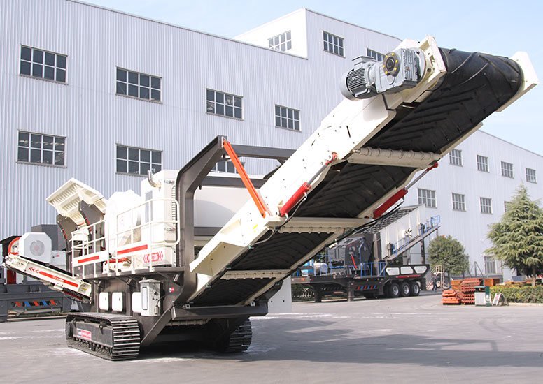 Mobile Crushing Station Opens a New Mode of Green Environment Protection