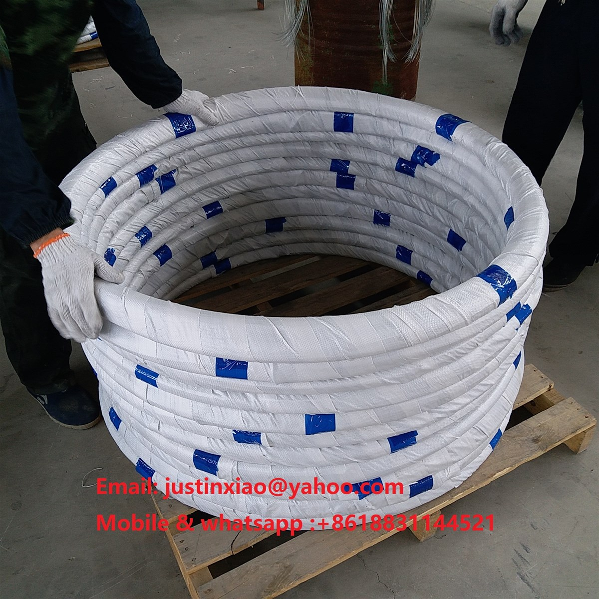 galvanized wire for weaving fishing cages traps