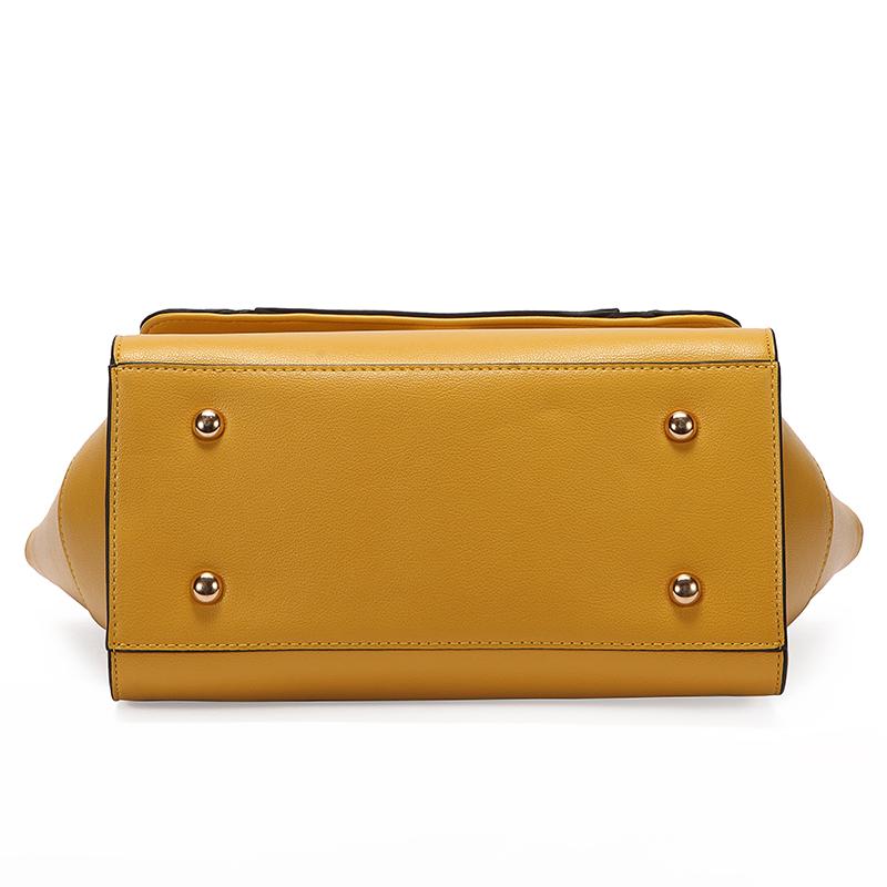 Women Fashion Satchel Shoulder Handbags Tophandle Celebrity Style Faux Leather Tote Purse