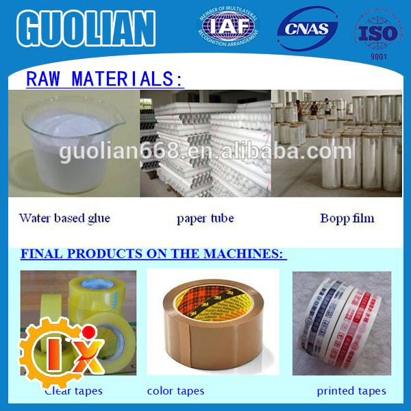 GL1000J High productivity clear tape machine price