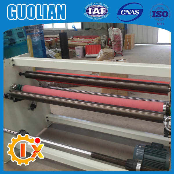 GL806 factory price BOPP Adhesive Tape Rewinding Machine