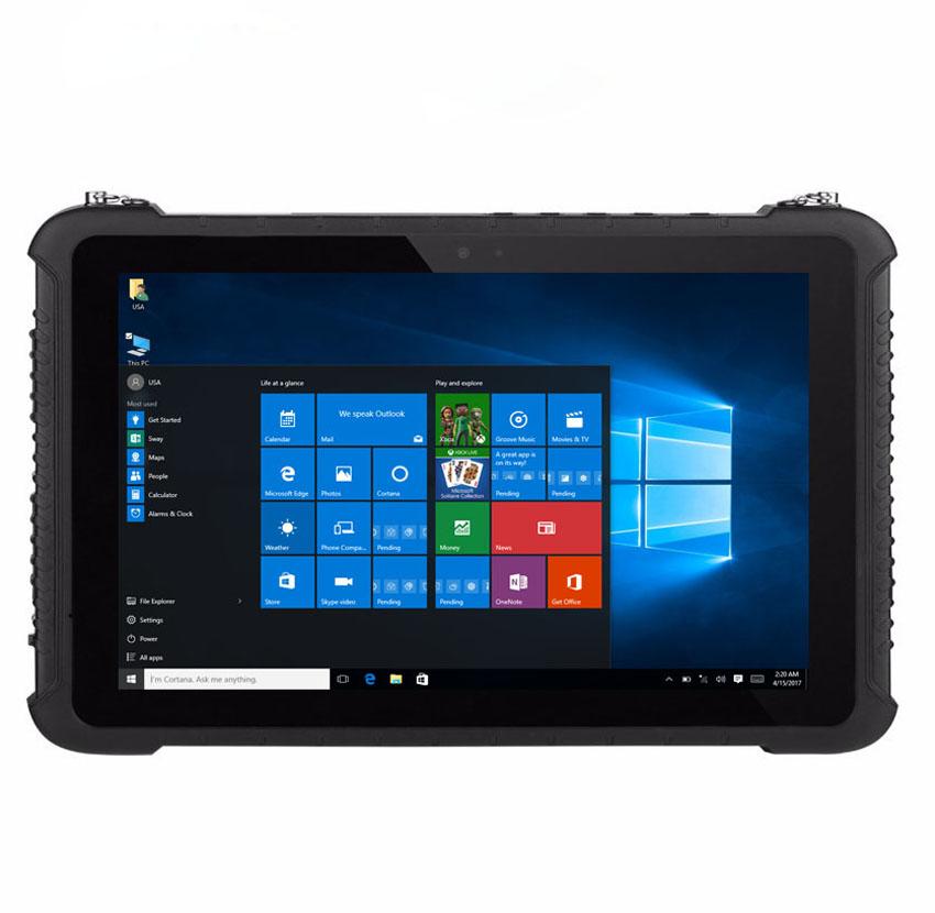 Industrial Computer Military K16H Rugged Windows 10 Tablet PC 4GB RAM 64GB ROM IP67 Waterproof 101 GPS 4G Fingerprint