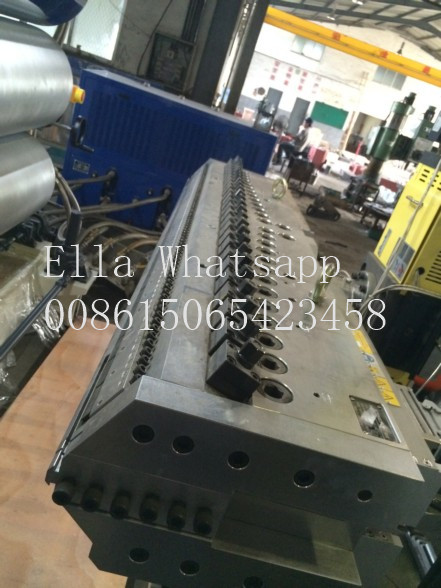 PET Plastic Extrusion Equipment 02 2mm Thickness 500kgH Max Capacity