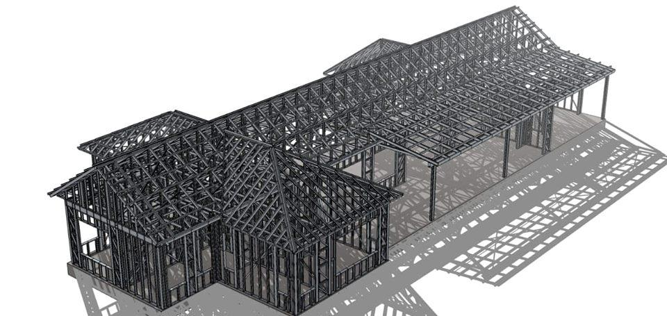 China Supplier Luxury Prefabricated Modular Light Gauge Steel Framing Former Machine