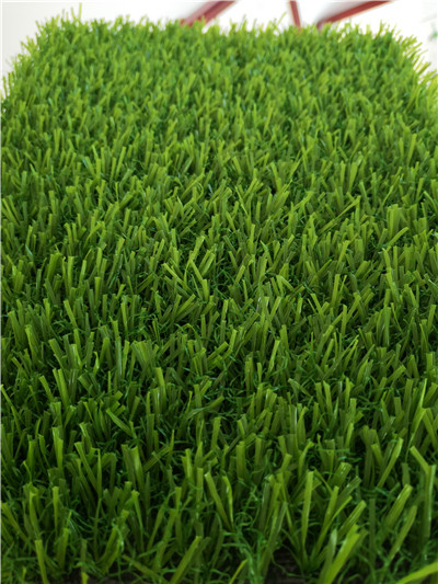 Flooring artifiical grass with landscape grass of M type from height 10mm to 40mm