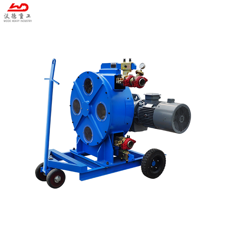 CE safety standard WH76770B SqueezeType Industrial Peristaltic Hose pump