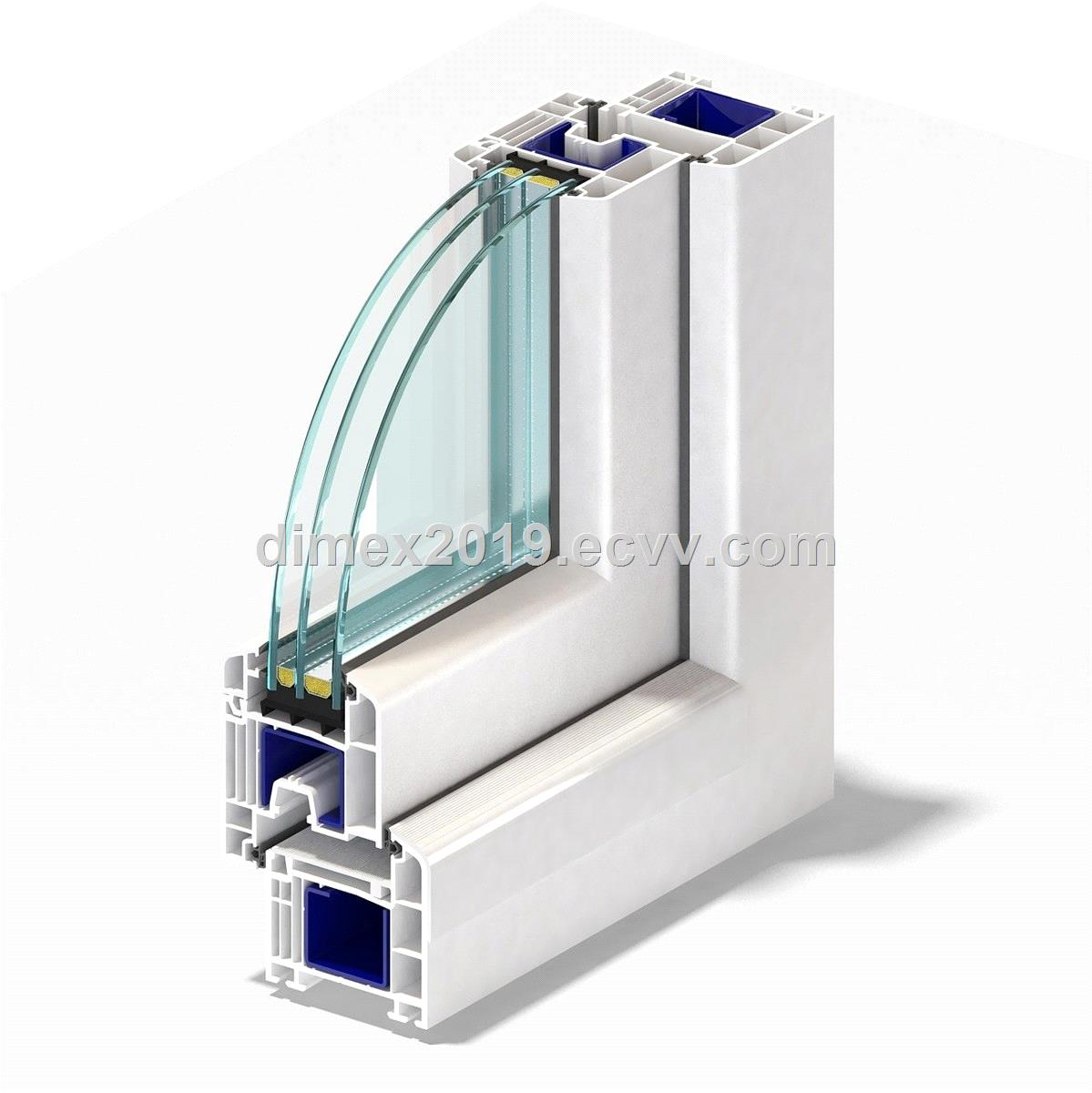 German brand UPVC Window profiles