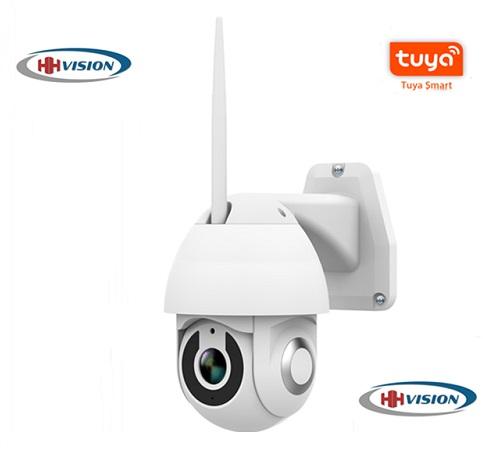 Tuya outdoor Wireless mobile control two way audio PTZ camera