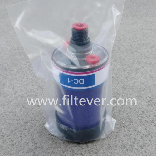 Replacement alternative filter interchange for original genuine DESCASE desiccant breather DC1