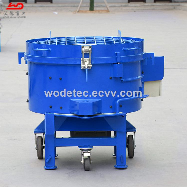 Electric control WRM250 refractory material mixer with heavy duty gearbox