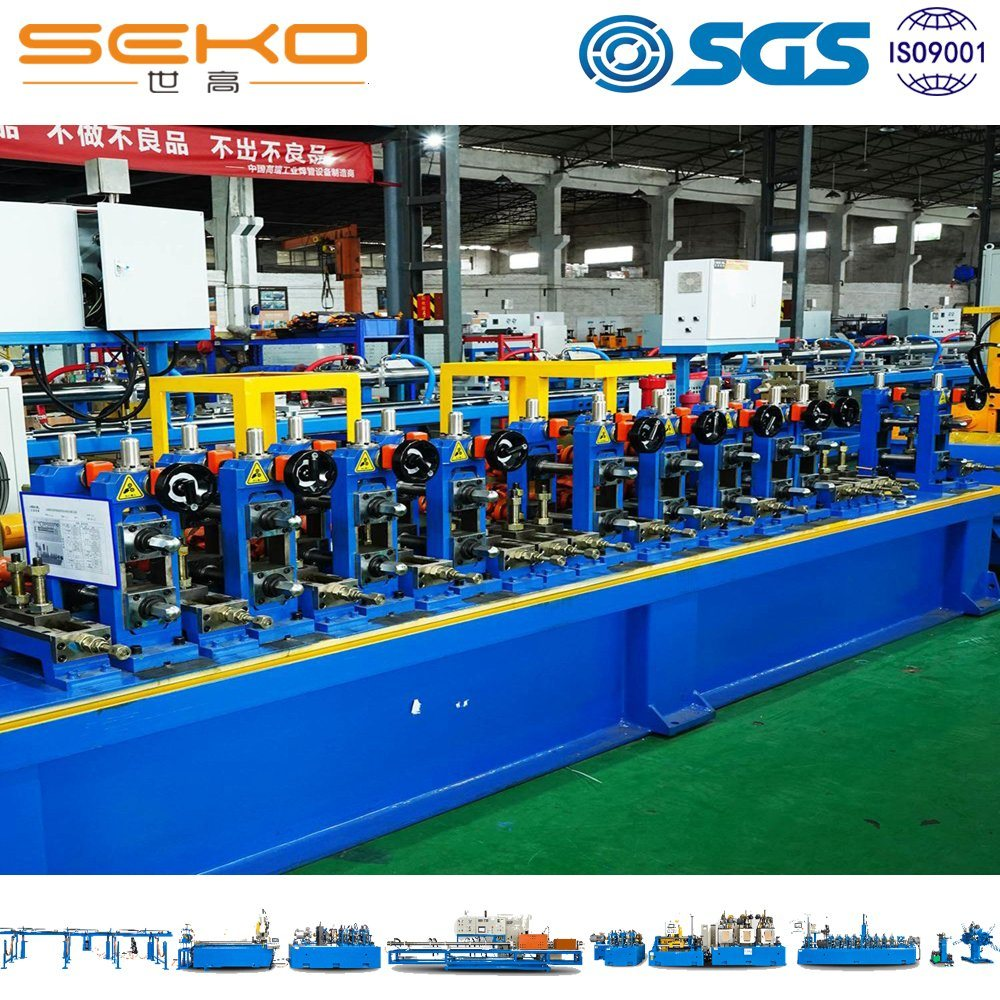 High Speed Industrial Stainless Steel Pipe Making Machine