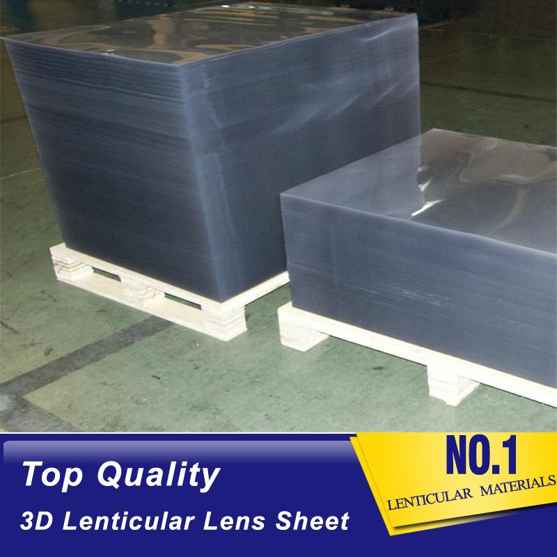 Top quality 25Lpi 4mm 3d lenticular plastic sheet depth 3d effect poster lenticular material supplier Christmas Islands