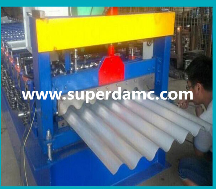 Superda machine roof panel roll forming machine manufacturer