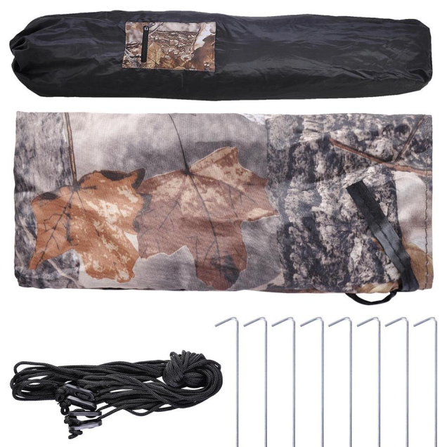 Factory sell Peach skin Hunting Blind Tent with POLYESTER MICROFIBRE FABRICS