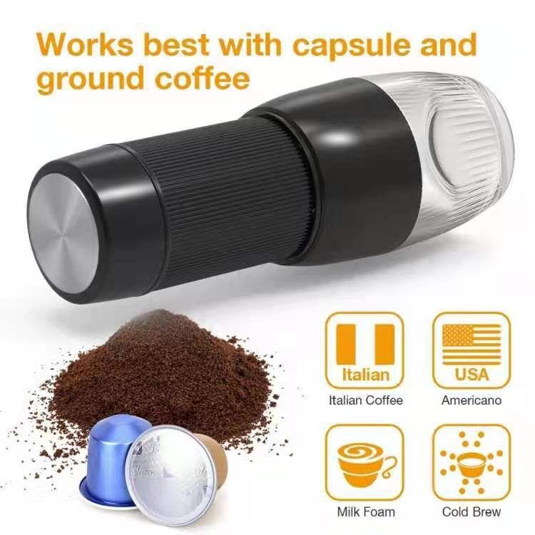 travel mini espresso coffee maker portable