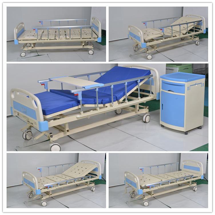 Two Function Mechanical Hospital Bed for Patient Clinic