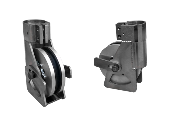 Plunge Pulley Wheel With Link Axis