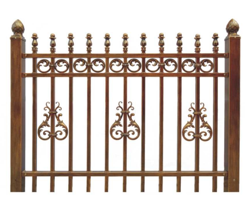 security garden fence antique looking fence