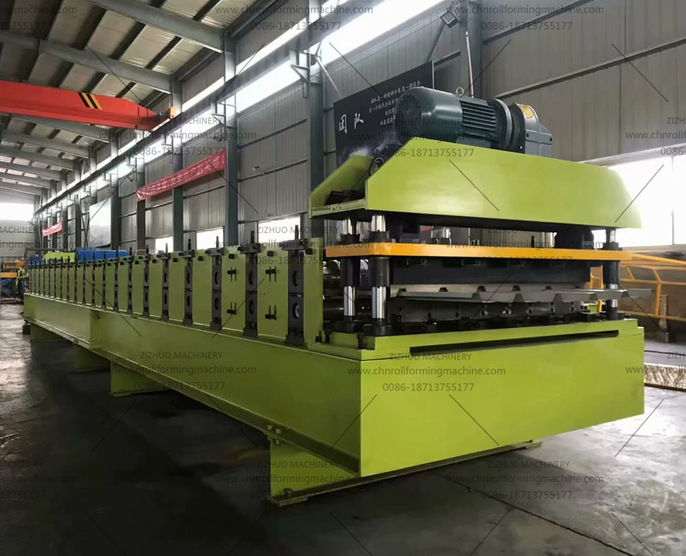 Europe Type high precision metal roofing sheet roll forming machine