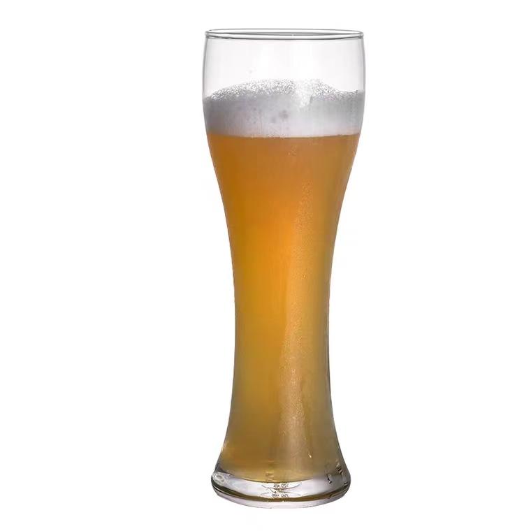 German beer mug glass home oversized capacity beer cup tik Yin European craft wheat cup bar logo